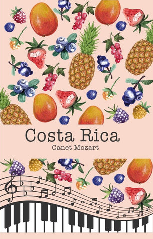 Costa Rica Canet Musician Series Mozart (Raisin Honey)
