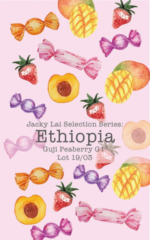 Jacky Lai Selection Series: Ethiopia Sidamo Guji Peaberry G1 Lot 19/03 (Natural)