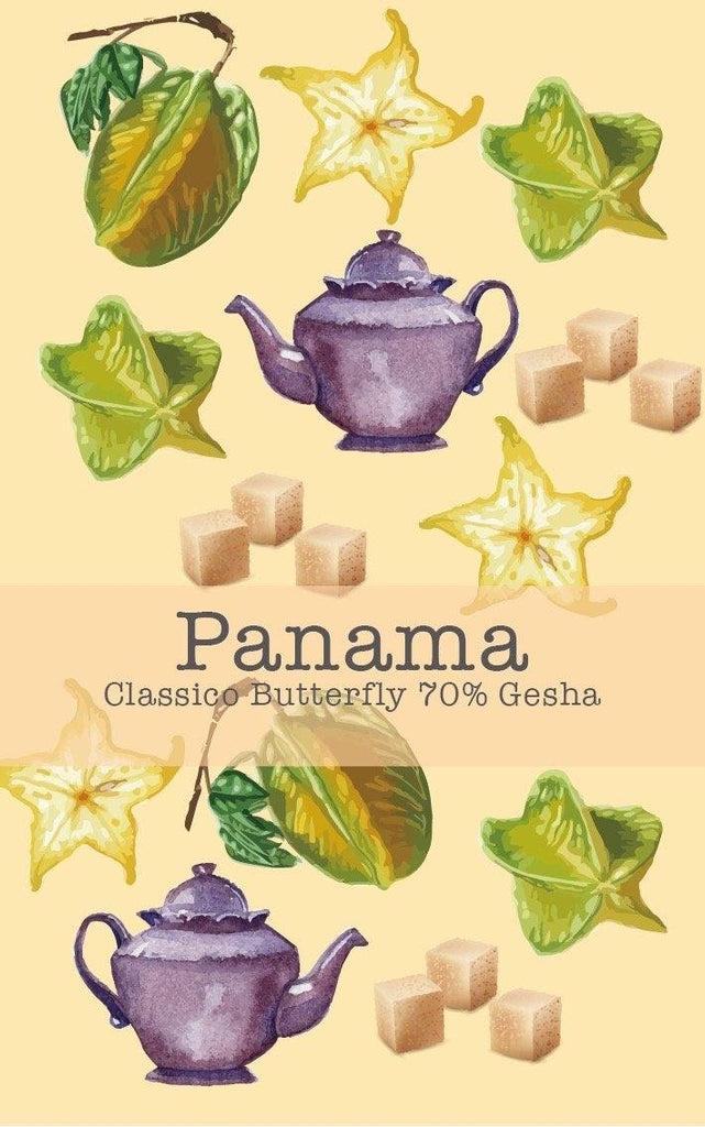 Panama Boquete Classico Butterfly 70% Gesha (Natural) - Return Coffee Roastery