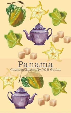 Panama Boquete Classico Butterfly 70% Gesha (Natural)