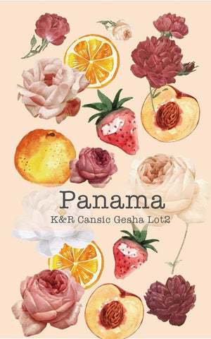 Panama K&R Cansic Gesha Lot 2 (Natural)