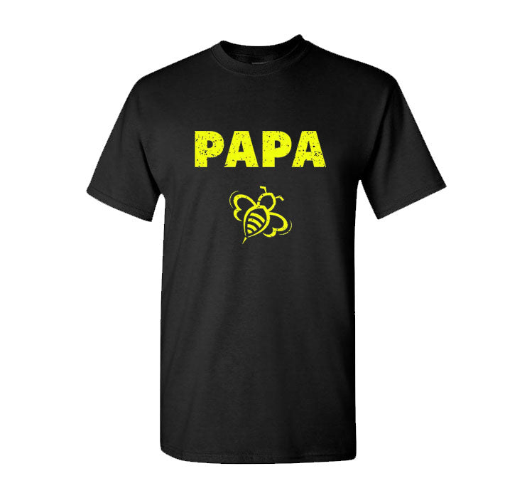 Papa Bee Shirt Funny Dad Bees Lover Fathers Day  T Shirt