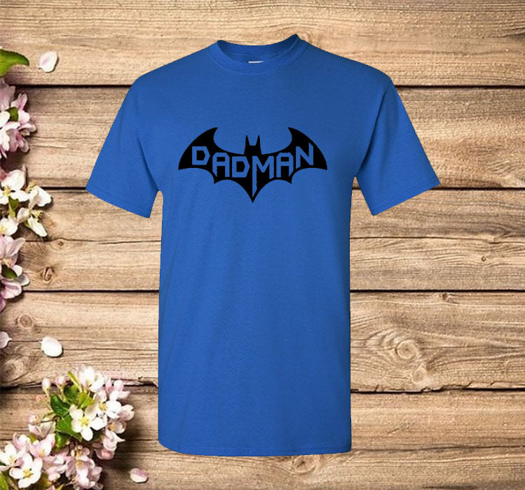 Dadman - Super Dadman Bat Hero Funny T-Shirt