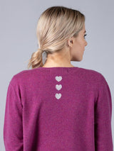 Long Line Jumper in Heather