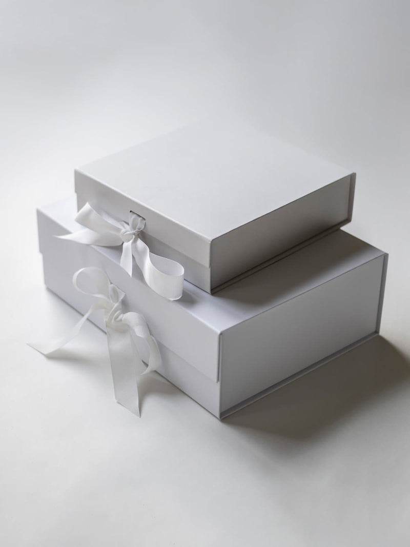 Silver Pink Gift Box