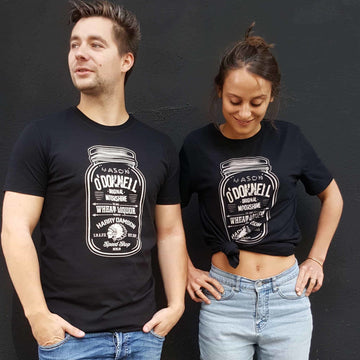 O'Donnell Moonshine - Schwarzes T-Shirt