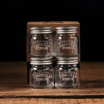 O'Donnell Moonshine - 4er Set Shotgläser, 5cl