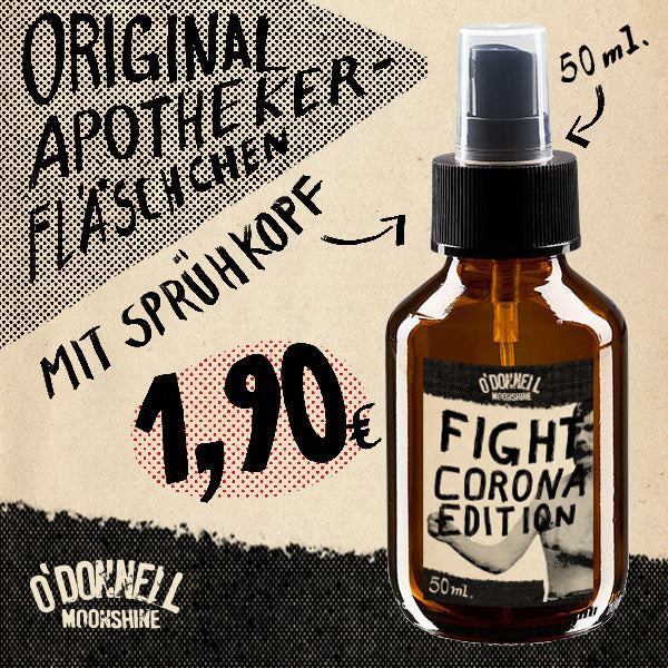 Sprühfläschchen O'Donnell 50ml - Fight-Corona-Edition