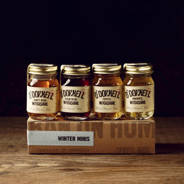 O'Donnell Moonshine - Winter-Set Mini Moonshine (4x50ml)