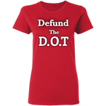 Defund The D.O.T Women's Tee - tyrannysucks