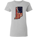 Indiana Freedom Women's Tee - tyrannysucks