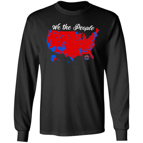 Trump Map 2016 Long Sleeve Tee