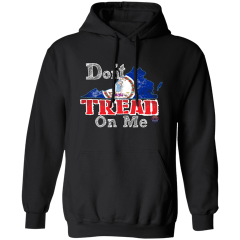 Don't Tread On Me Virginia Hoodie - tyrannysucks