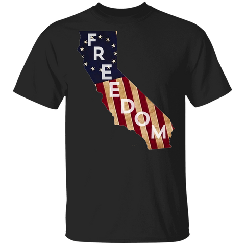 California Freedom Tee Shirt