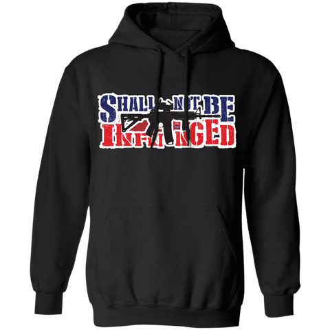Shall Not Be Infringed Hoodie - tyrannysucks