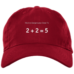 2+2=5 Baseball Hat - tyrannysucks