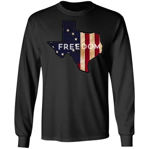 Texas Freedom Long Sleeve Tee