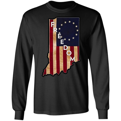 Indiana Freedom Long Sleeve Tee
