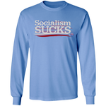 Socialism Sucks Long Sleeve Tee - tyrannysucks