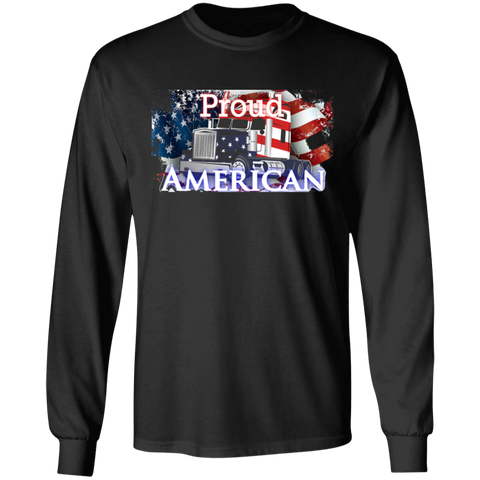 Proud American Long Sleeve Tee