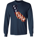 California Freedom Long Sleeve Tee - tyrannysucks