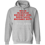 Resistance Becomes Duty Hoodie