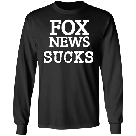 Fox News Sucks Long Sleeve Tee