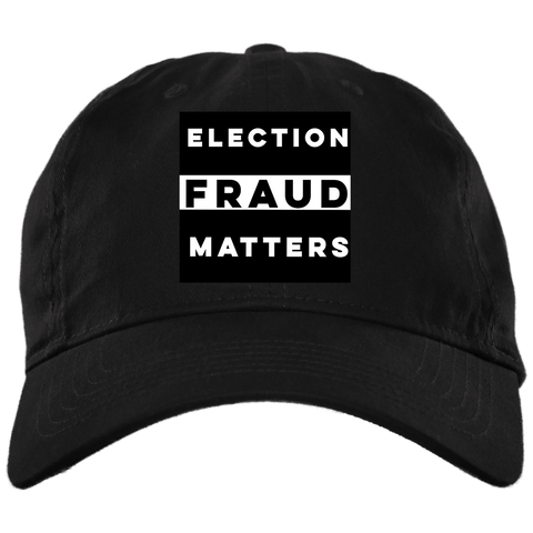 Election Fraud Matters Baseball Hat - tyrannysucks