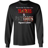 Traitors & Patriots Long Sleeve Tee