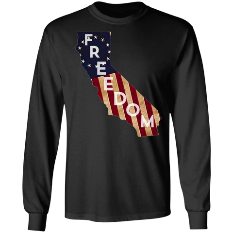 California Freedom Long Sleeve Tee