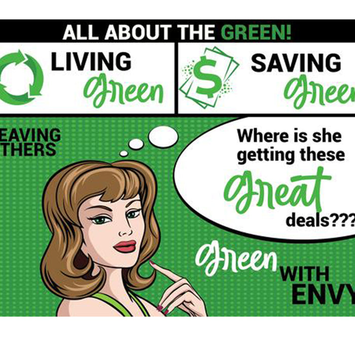 Shop Green, Live Green, and Stay Green with Bid & Buy
