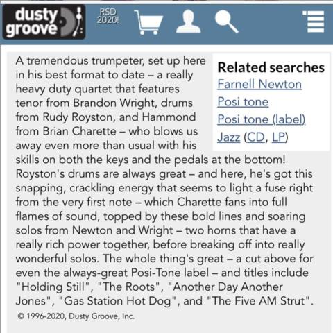 Rippin' & Runnin' - Dusty Groove Review
