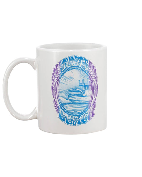 11oz Mug RETRO MANHATTAN BEACH FADE