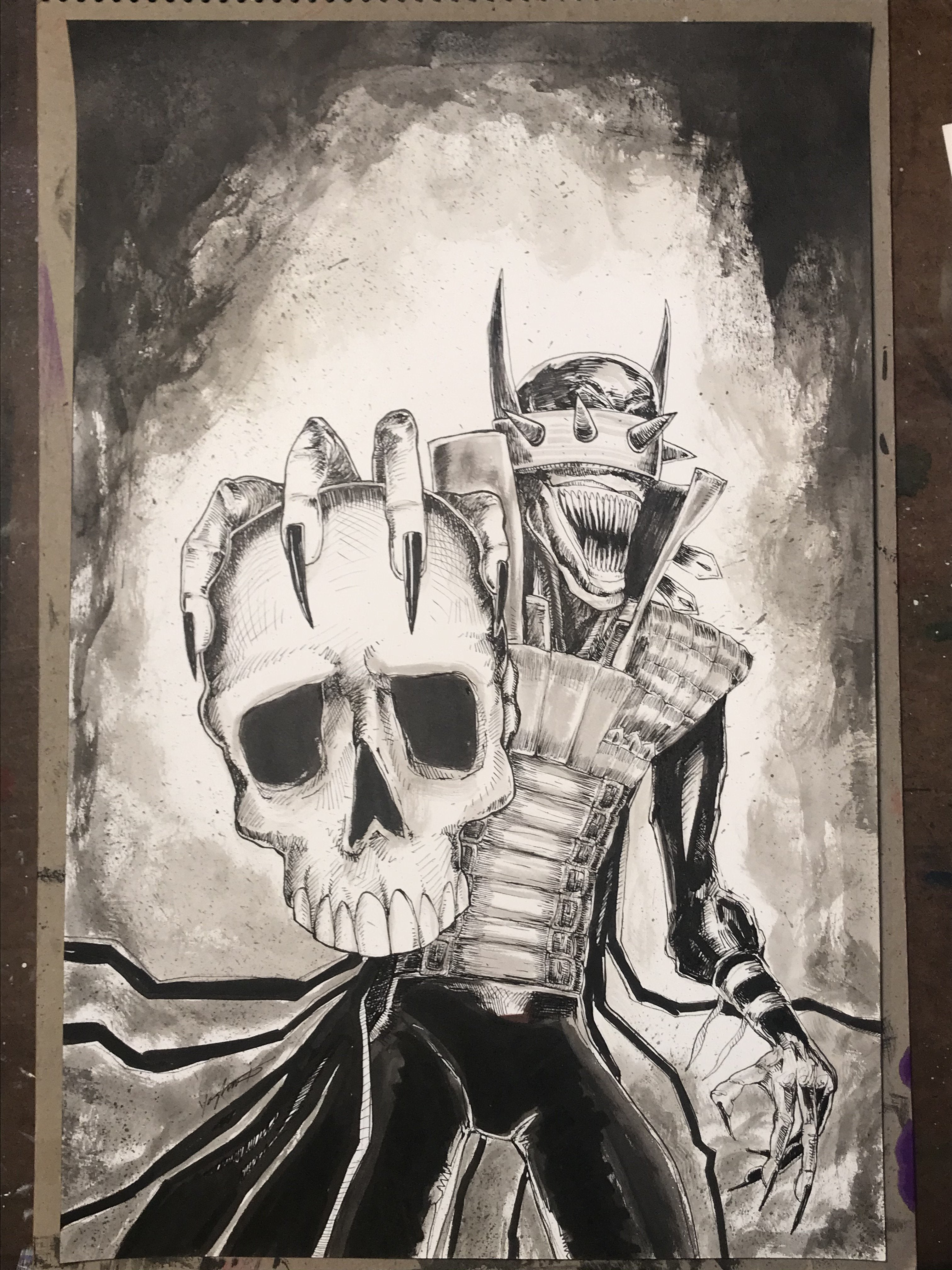 The Batman Who Laughs - Hank Yaghooti - Art and Illustration