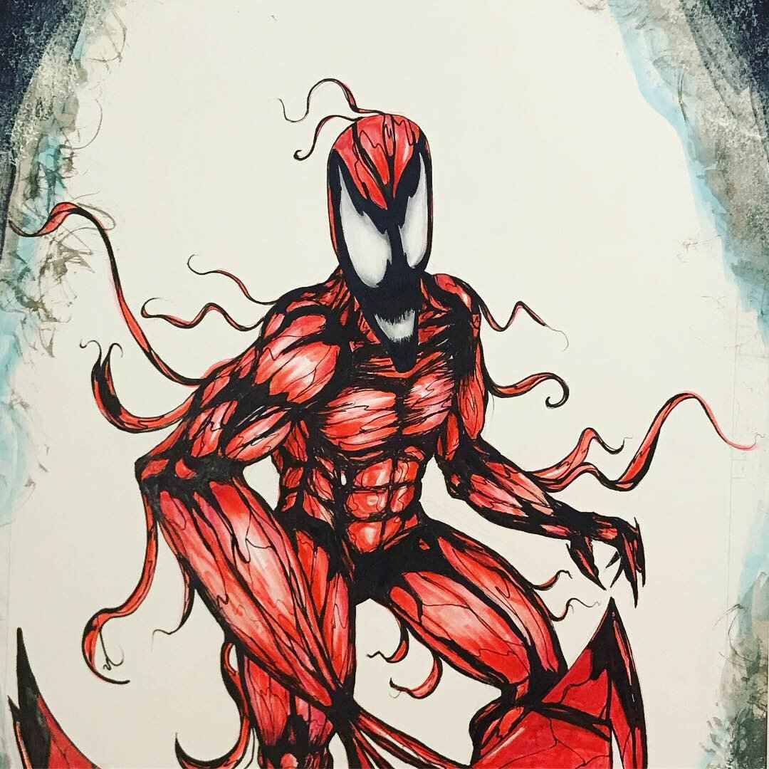 Carnage - Hank Yaghooti - Art and Illustration