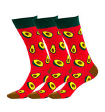 3 Paar Avocado Socken - Guacamole Bundle