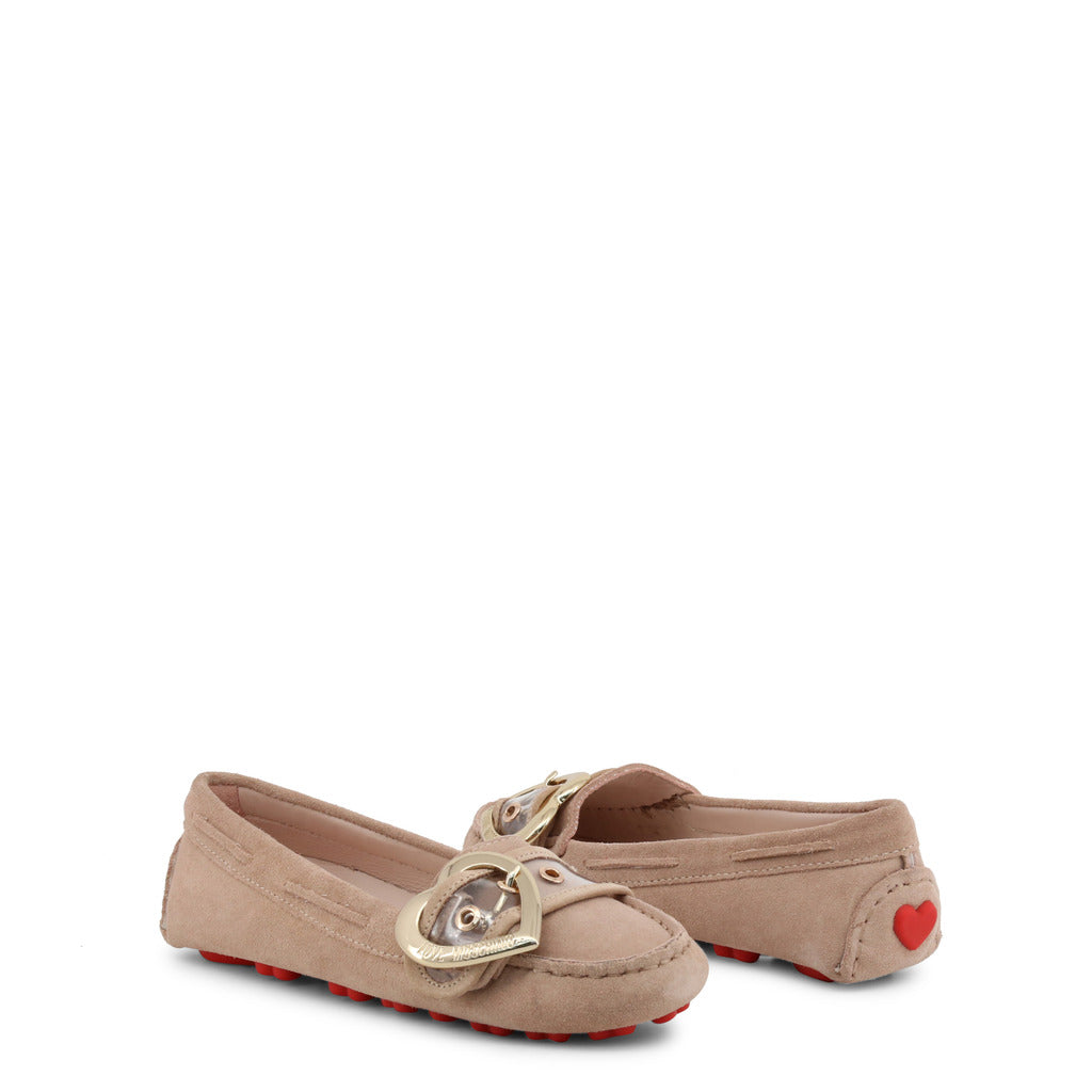 LOVE MOSCHINO MOCCASINS