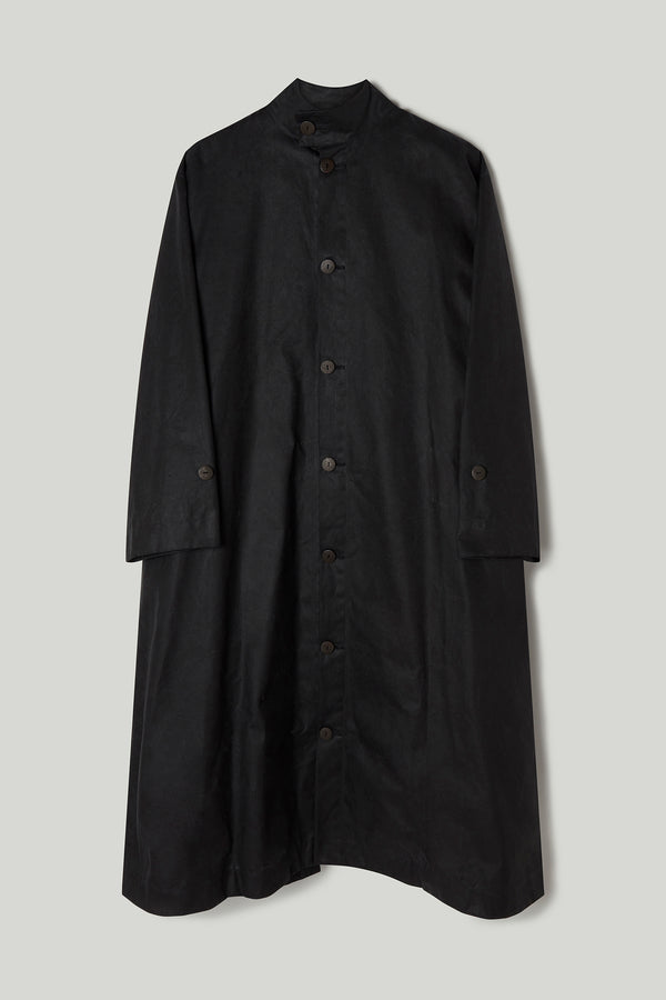 THE ARTIST COAT / WAXED COTTON FLINT