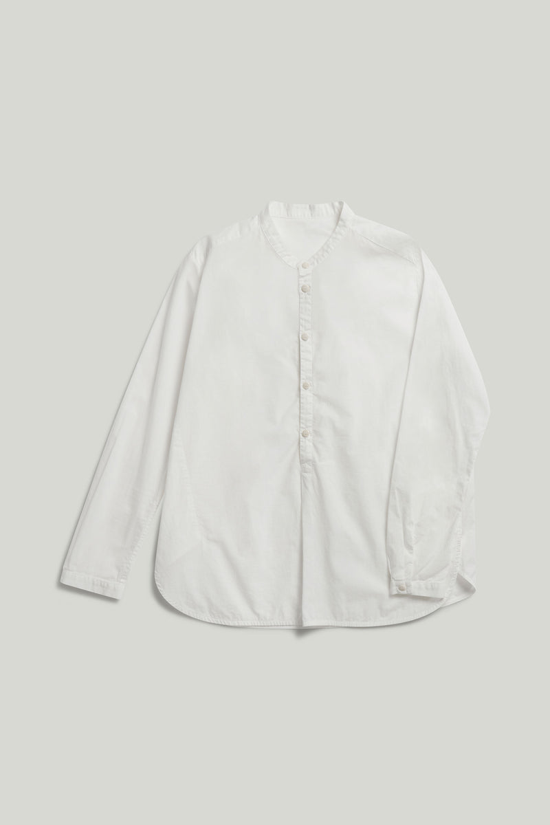 THE BOTANIST SHIRT / POPLIN CHALK