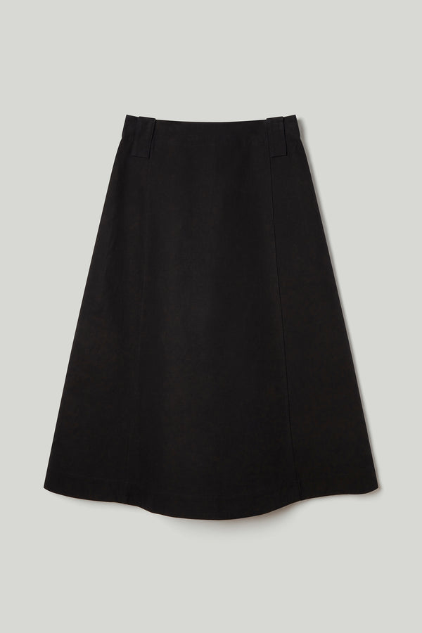 THE CONDUCTOR SKIRT / TEXTURED COTTON FLINT