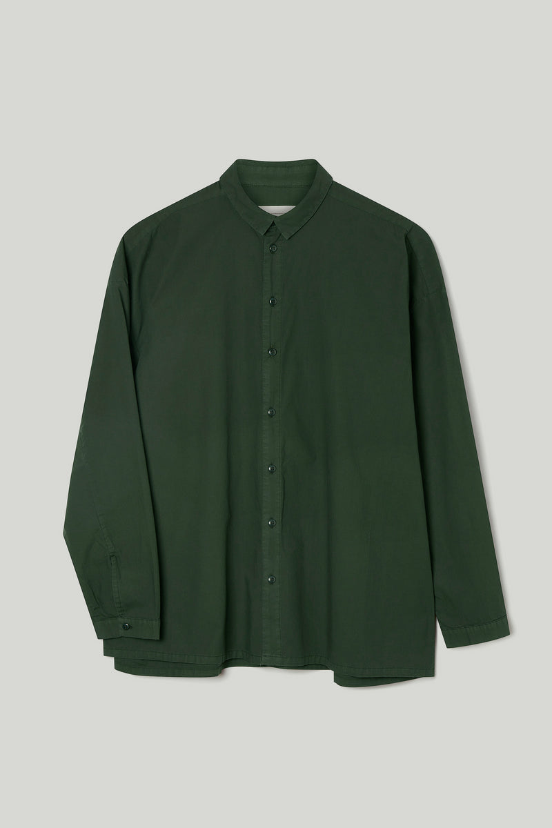 THE DRAUGHTSMAN SHIRT / POPLIN FOREST