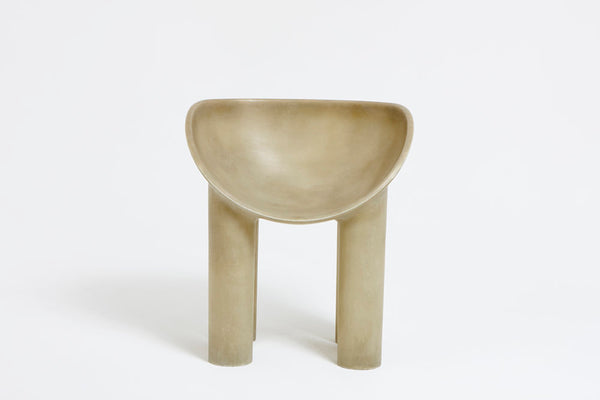 Roly-Poly Dining Chair / Raw