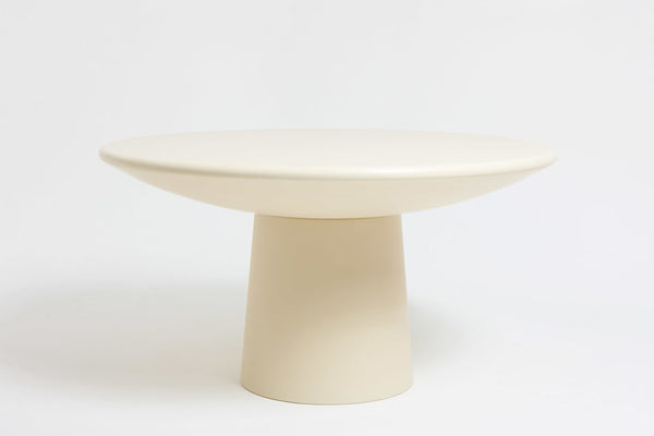 Roly-Poly Dining Table / Cream