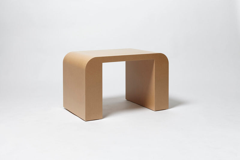 Toogood CHUBBY DESK & STOOL side view