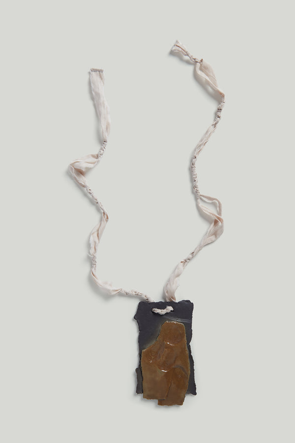 THE CERAMICIST PENDANT / CLAY FLINT