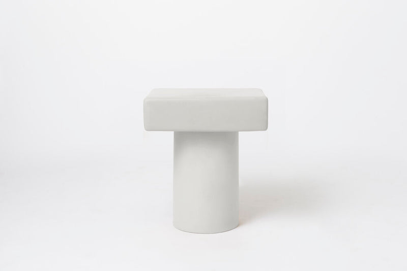 ROLY-POLY NIGHT STAND / CHALK