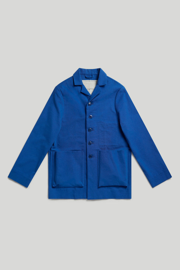 The Photographer Jacket / Cobalt