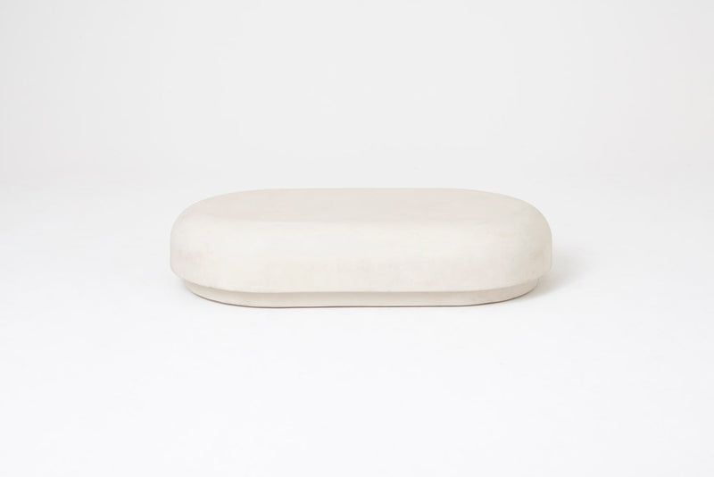 Roly-Poly Low Table / Chalk