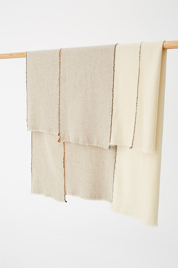 Toogood X Teixidors Merino Wool Throw - Natural