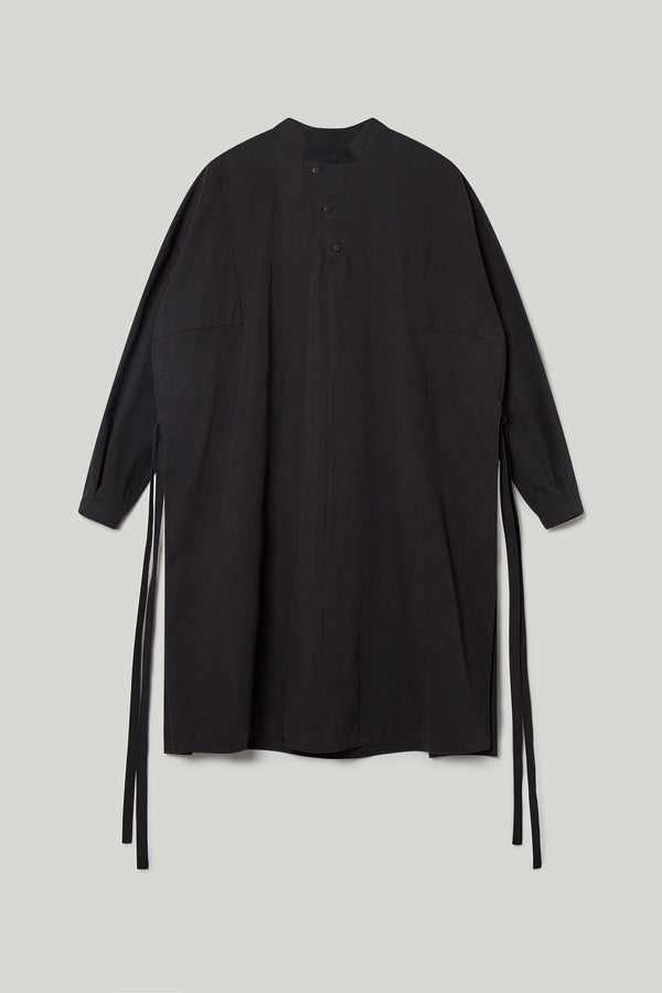 THE ARTIST SMOCK / PLAIN COTTON SILK FLINT